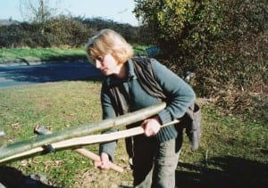 sarah-page-cleaving-chestnut-poles