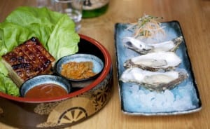 yum-yum-bo ssam-with-oysters