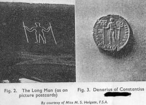 long man of wilmington on coins