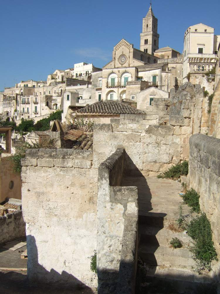 Matera's streets are a wonderful place to explore