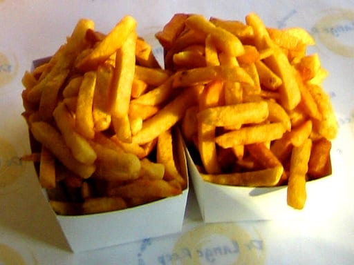 brief history of the Belgian fries