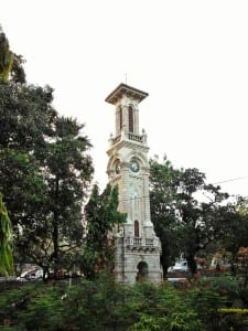Clock tower in the premise of Dr. Bhau Daji Lad (BDL) Museum. Photo courtesy: Aditya Chichkar