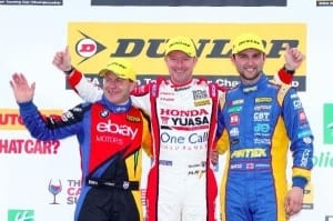 btcc03-second-race-win-for-shedden-(centre)-flanked-by-collard-(left)-and-jordan-(right)