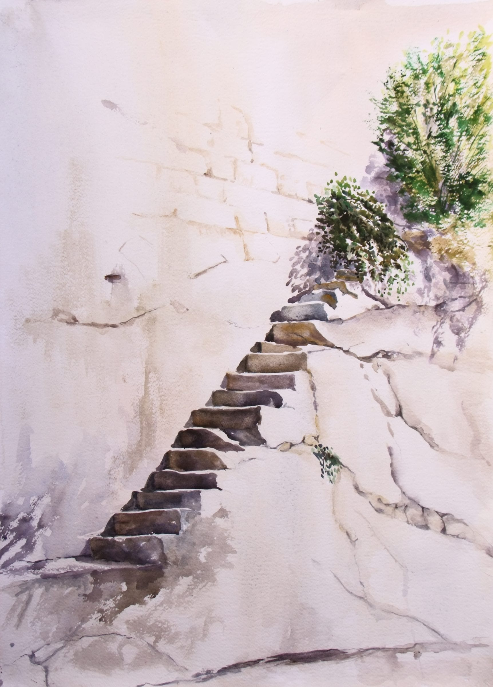 Steps in the Bastion, going nowhere