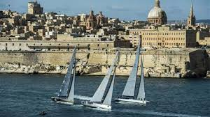 Yachts in Valletta Harbour