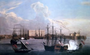 Old Bombay Harbour- 1731