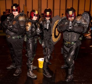 Judge Dredd costume group