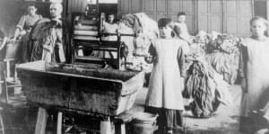 One of the notorious Magdalene laundries in Ireland