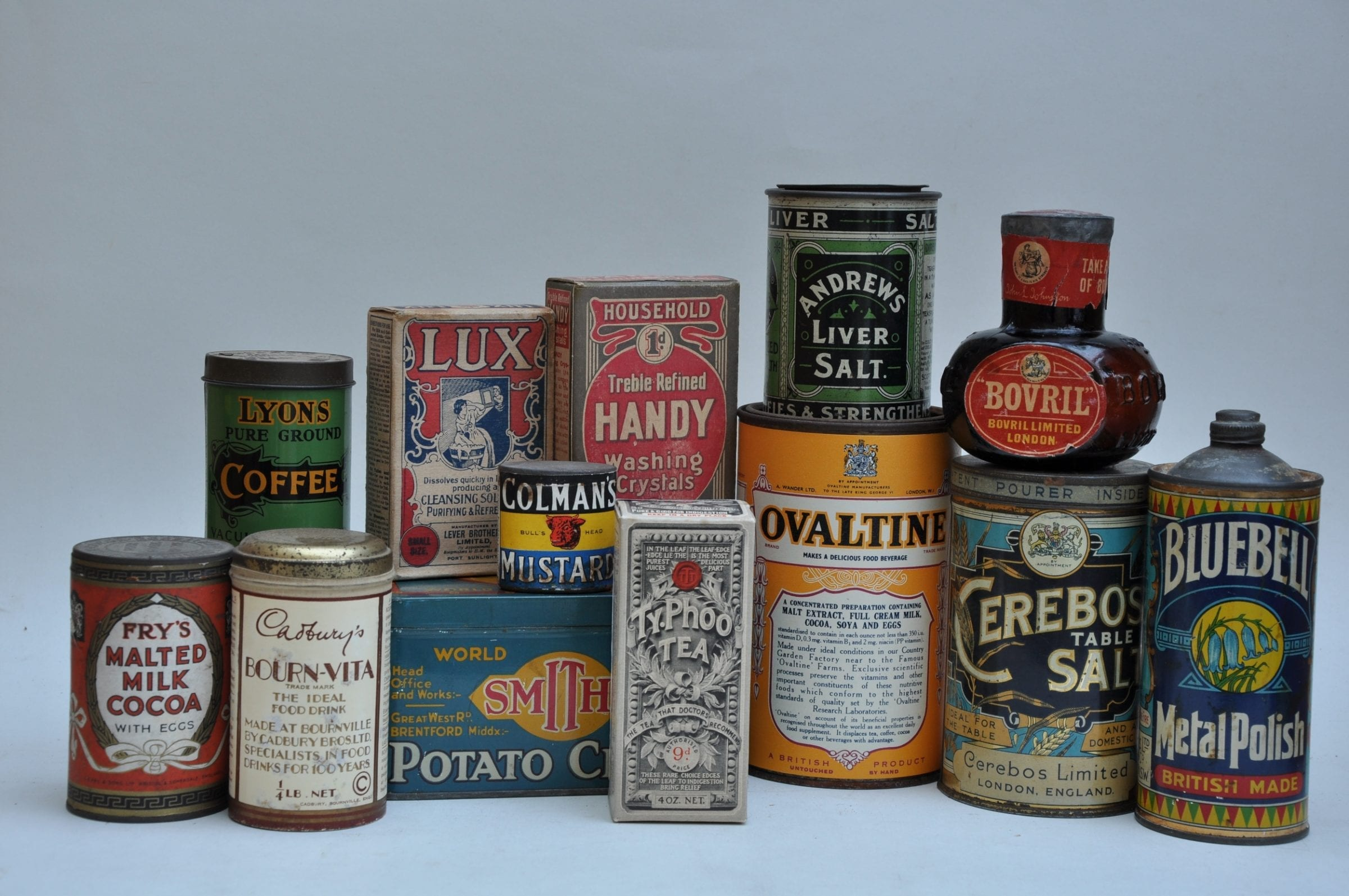 Classic Pack Designd from Edwardian times to 1930s