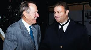 MalDia 09 (14-01-15) Joseph calleja with George Bush senior
