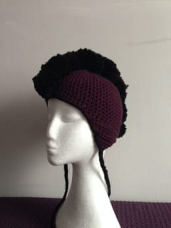 Crochet - Mohawk Hat (Commission) 2