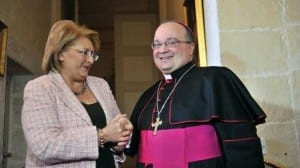 Malta's President Marie Louise Coleiro meets Malta's new Archbishop Charles Scicluna - State and Church under pressure