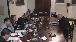 The Parliamentary Public Accounts Committee in session