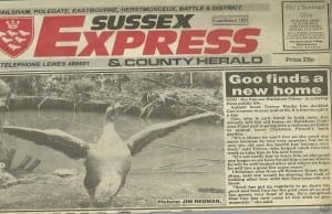 Sussex Express 20th March 1992