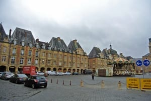 The old city square in Mezieres is home to the Marionettes Museum and many festivals