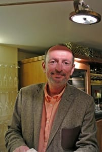 You are guaranteed a warm welcome from Mr Dricot, the owner of C Comme Champagne, Epernay