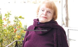 Shelly Tayar, wife of the late George Tayar