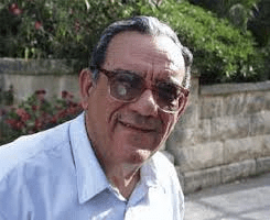 Father Dionysius Mintoff, Franciscan monk and brother of the Late PM Dom Mintoff.