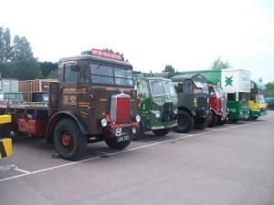 Lorries-on-display