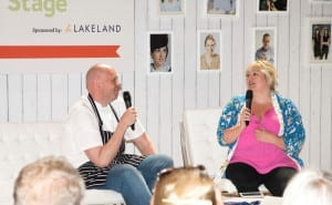 Tom Kerridge on the interview stage