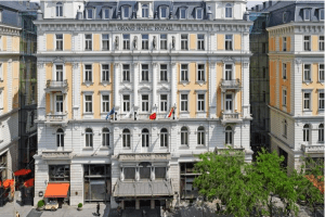 The Corinthia in Budapest.