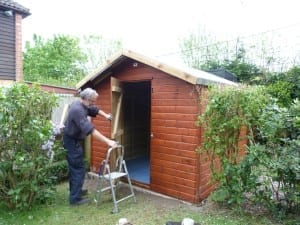 Donated Skinner Shed