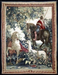 Gobelin tapestry from the priceless set Tenture des Indes.