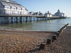 Eastbourne pier before the 2014 fire