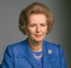 Britain's Margaret Thatcher labelled Mintoff as  - that man!