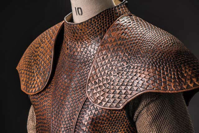 Oberyn Martell's armour Exhibition ©Helen Sloan