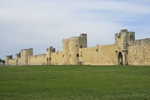 The city walls of Aigues-Mortes