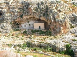 The Chapel dedicated to St Paul the Hermit in Mosta Valley, a refuge for haunted souls in a haunted valley.