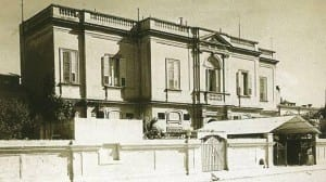 the Central Hospital in  Floriana for infected sailors.