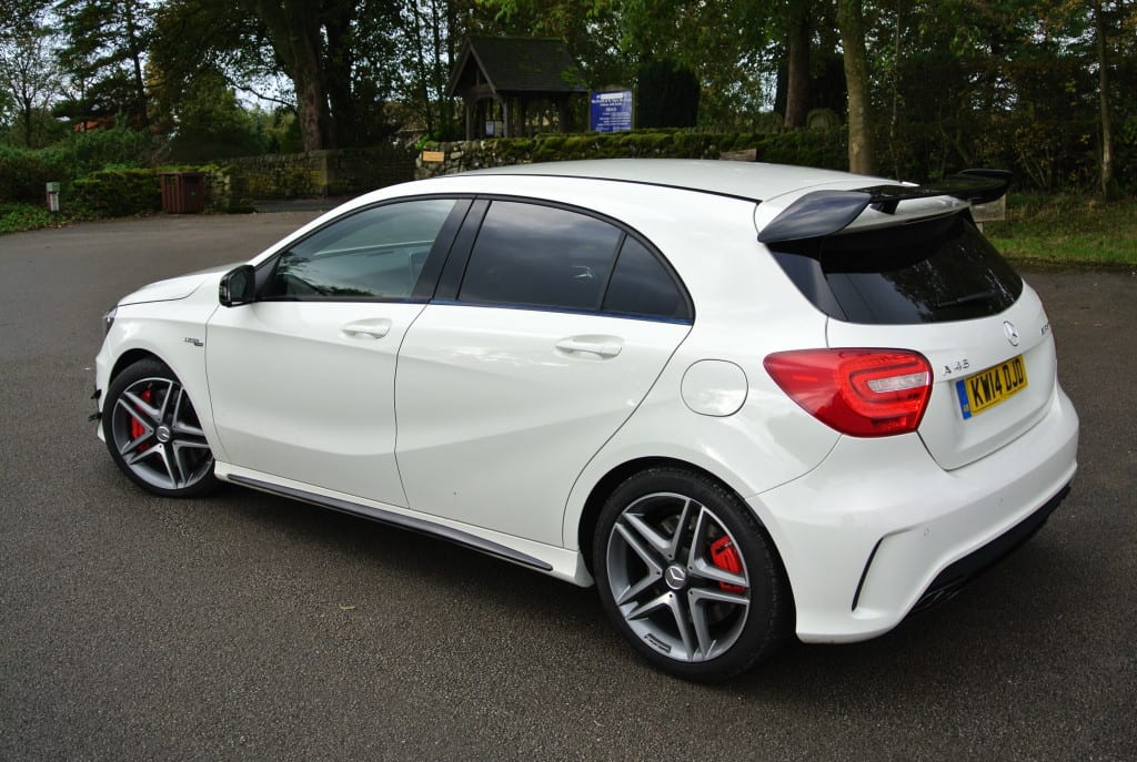 Around £50k is (let's face it) a hefty 345bhp hot-hatch price tag