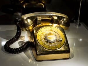 Elvis's gold telephone