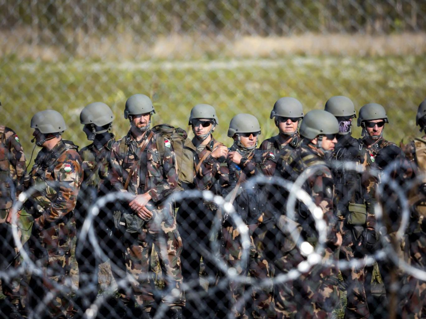 Hungary closes its borders