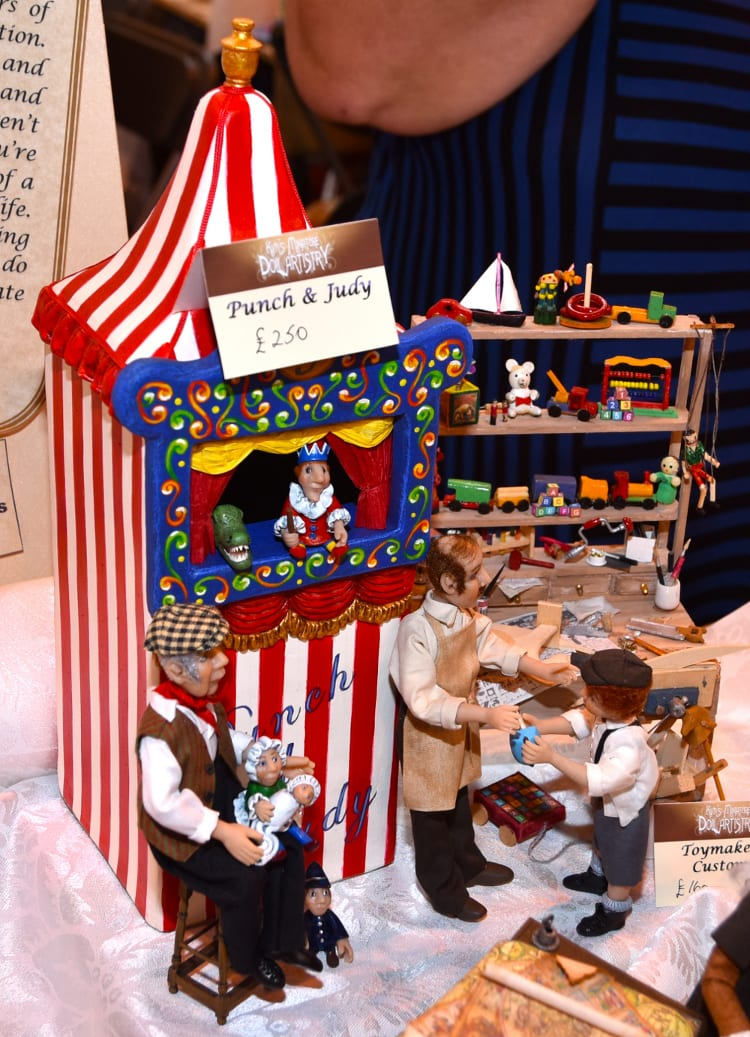 Punch and Judy scene by Kim Murdock