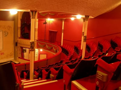 Dress Circle layout hasn't altered since 1883