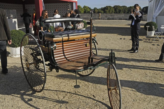 The first ever motorised car, by Karl Benz 1886