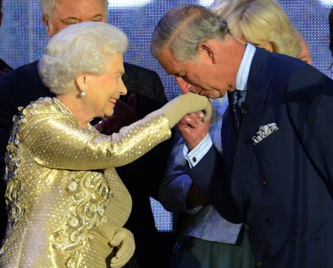 Mum Queen Elizabeth II and son Prince Charles - expected in Malta in November.