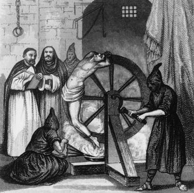 The painful Spanish Inquisition wheel