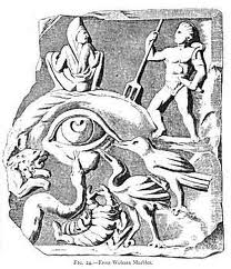 The evil eye historical depiction
