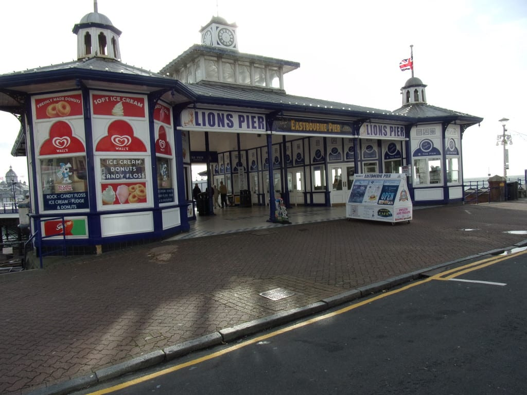 The new Eastbourne 'Lions' Pier