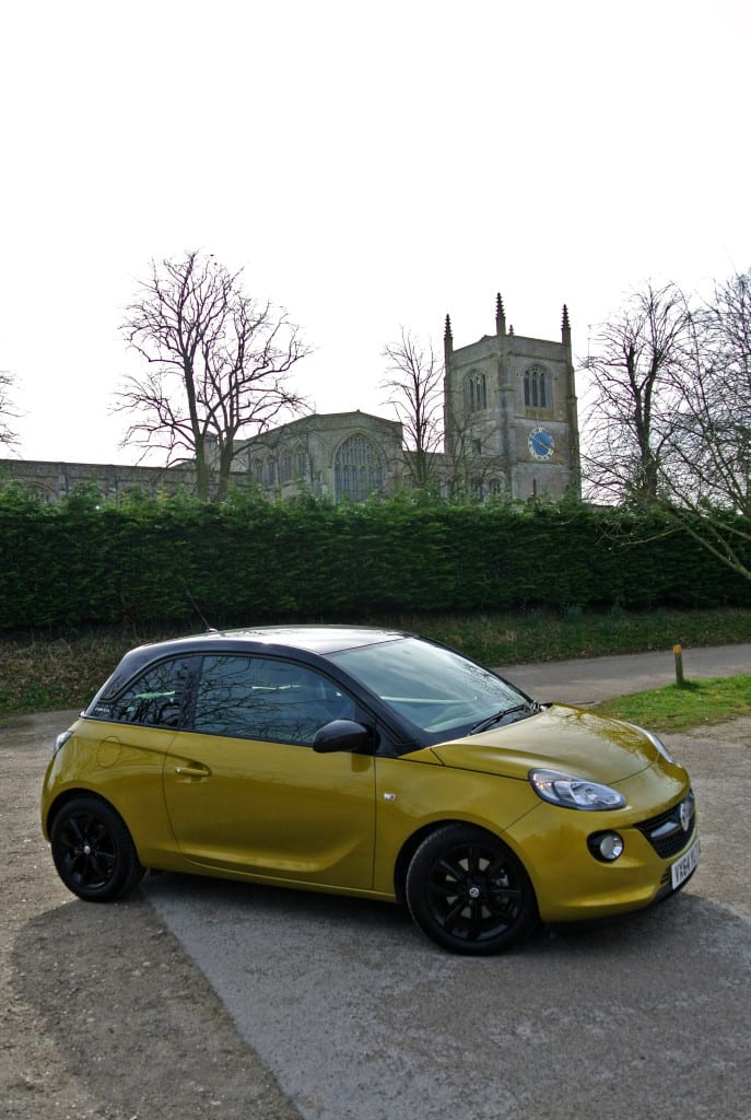 Vauxhall Adam, cute but squeezed