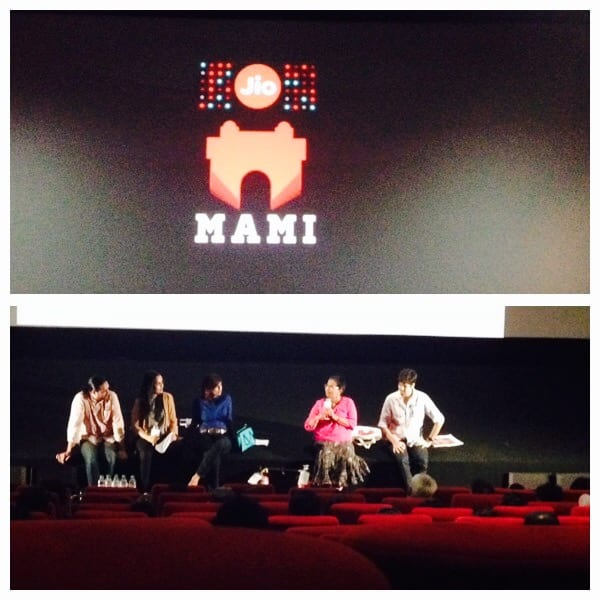 Panel discussion on 'Producing films on Crowd funding initiatives' at MAMI'2015