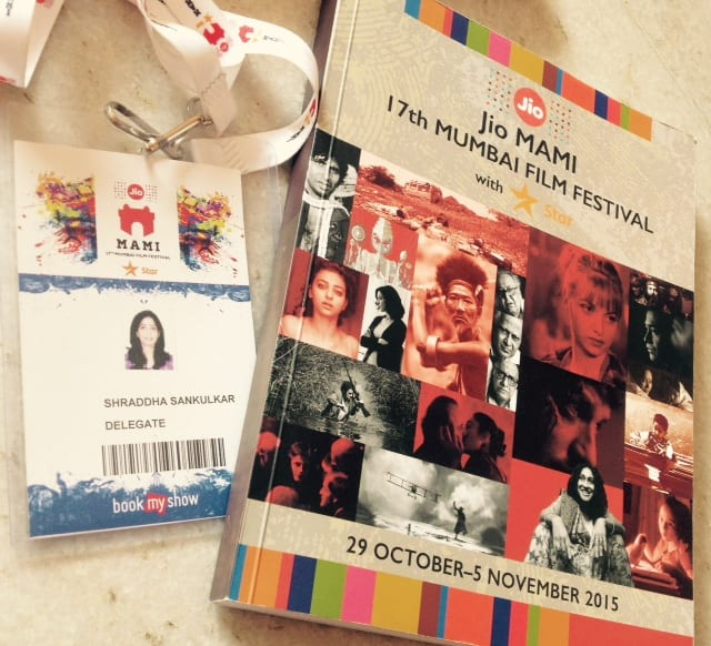 Proud to be a part of MAMI film festival