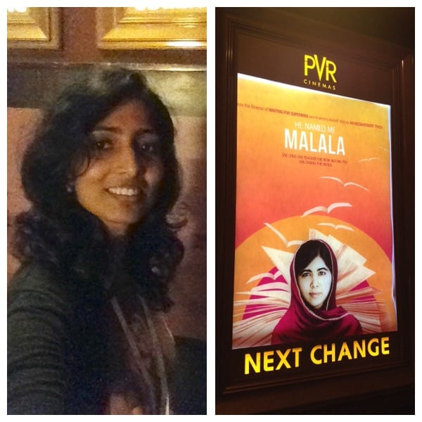 'Education will change the world positively'- Me & Malala!