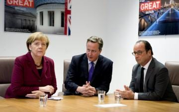Angela Merkel, Francois Holland and David Cameron expected to attend.