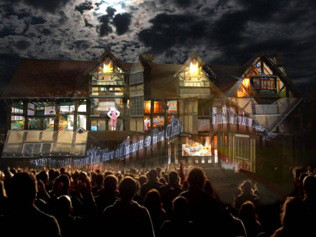 Illuminating Shakespeare - artists impression