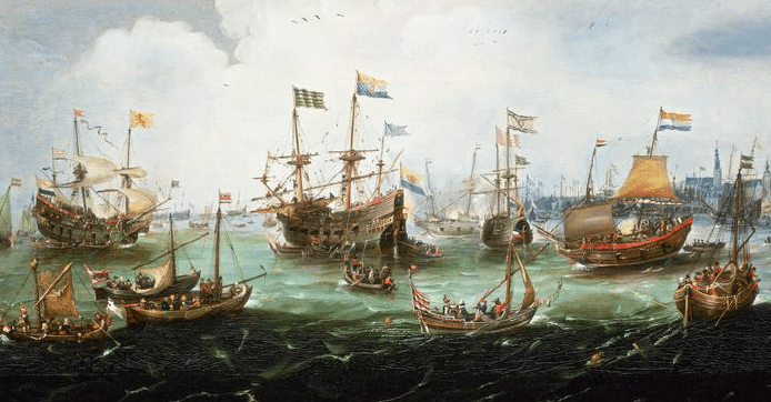The Dutch East India Trading Company employed Maltese corsairs as ship bombardiers